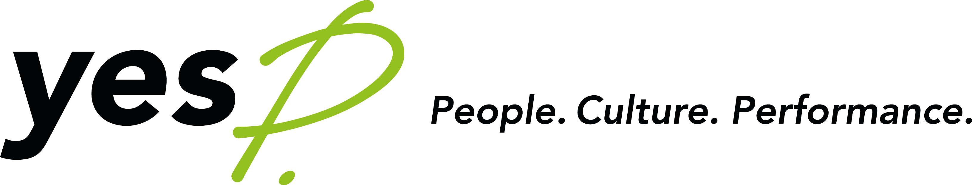 Yesp Logo with People, Culture & Performance
